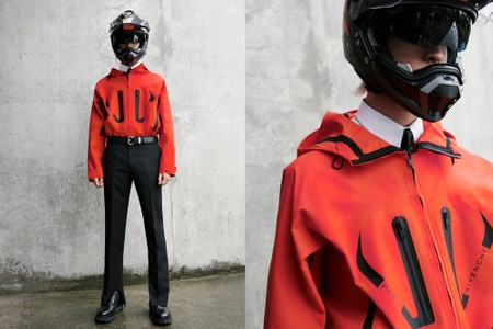 Givenchy's SS20 Pre-Collection Borrows From the Biker World