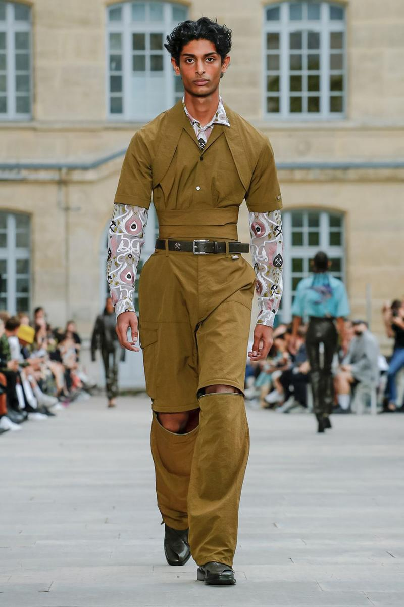 gmbh spring summer 2020 mens runway show collection paris fashion week
