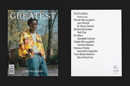 """'Stranger Things' Star Caleb McLaughlin Covers GOAT's 'Greatest' Magazine """"Issue 03"""""""