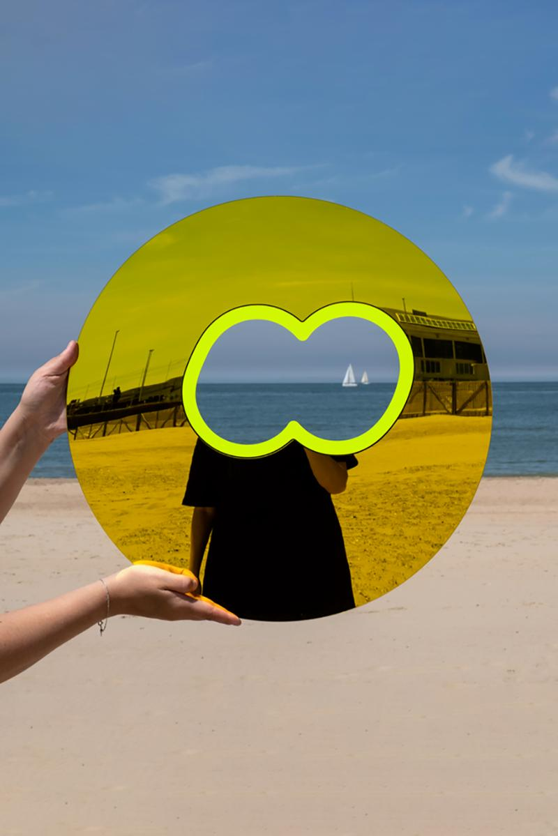 Case Studyo Presents Greg Bogin's 'Mr. Sunshine' Cut-Out Mirror