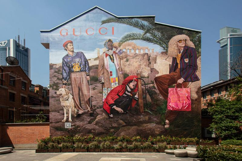 gucci artwalls pre fall 2019 campaign collection lookbook new york shanghai china hong kong