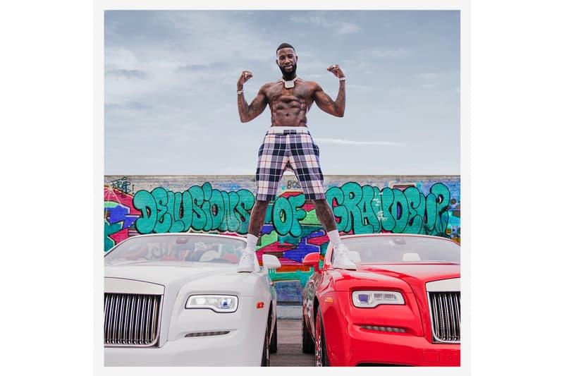 Gucci Mane 'Delusions of Grandeur' Album Stream ATL trap 808 hip-hop rap atlanta artist musician kenny beats instrumental meek mill anuelaa gunna lil baby justin bieber jeremih boogie hoodie wiz khalifa rick ross lil uzi vert youn dolph dj drama peewee longway