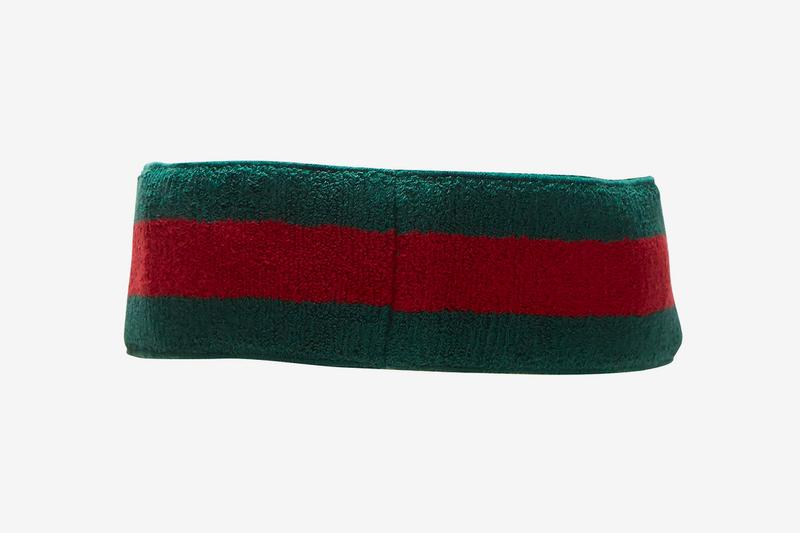 Gucci Ribbed Knit Visor Hat Release Green Red Info