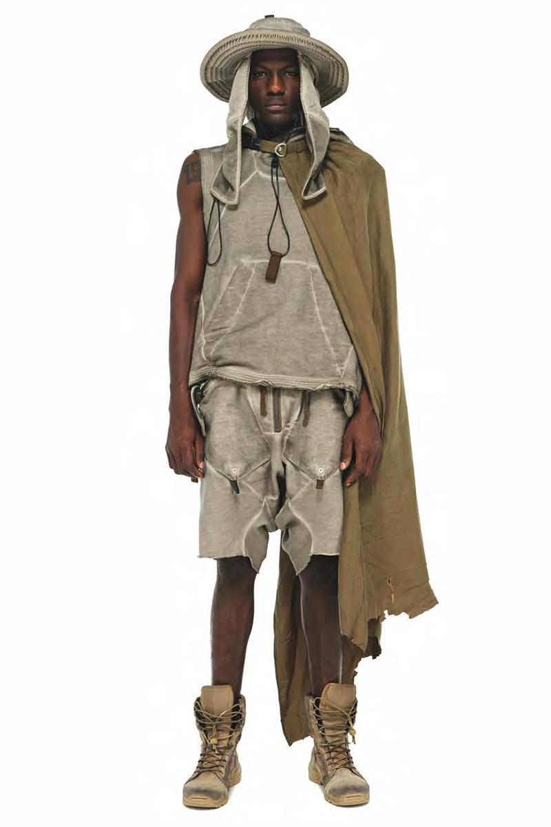 Hamcus Spring Summer 2020 SOLØ Collection Lookbook techwear technical apparel borderlands western