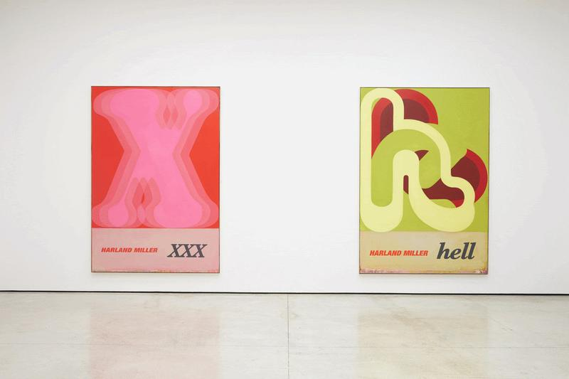 harland miller white cube hong kong exhibition painting artworks