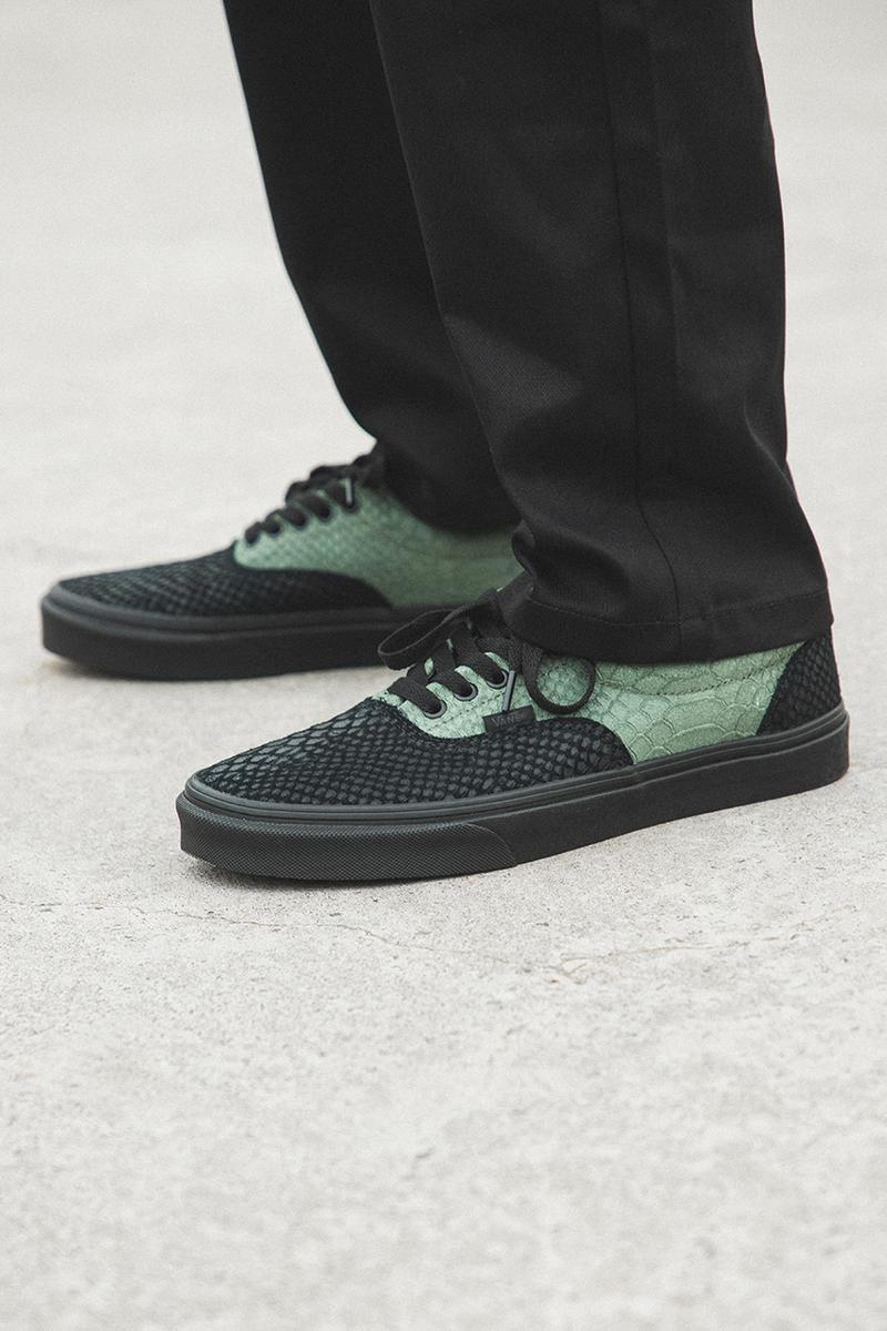 harry potter j k rowling vans era sk8-hi classic slip on authentic closer on foot look buy cop purchase hbx gryffindor slytherin daily prophet lightning bold blue green red yellow