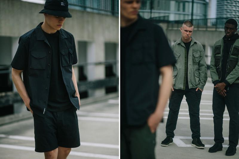 HAVEN Spring Summer 2019 Editorial Lookbook delivery 2 ss19 collection range retailer boutique in-house brand imprint military functional vest tactical jackets Canadian Military OG 107 Combat Coat COOLMAX® service pants bdus cargos