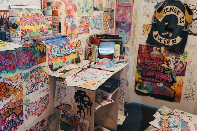 beyond the streets new york recap exhibition artists artworks graffiti street art roger gastman rosie perez shepard fairey takashi murakami madsaki futura installations sculptures