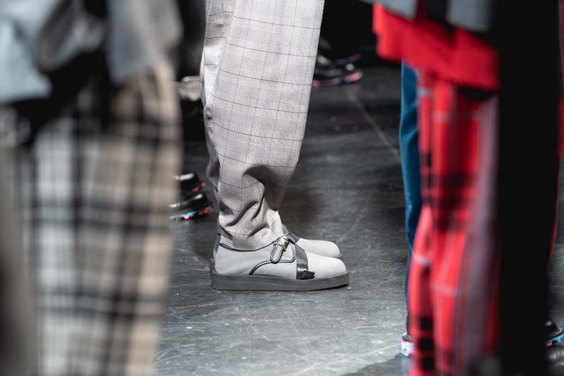 N.HOOLYWOOD SS20 Runway Collection Backstage undercover jun takahashi vivienne westwood england scotland new york fashion week spring summer 2020 nyfw
