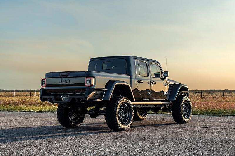 Hennessey Perfomance Maximus 1000 Gladiator Jeep Hellcat 6.2L 1000BHP Supercharged V8 Engine One of 24 $200000 USD Limited Edition Official Custom Tuning Built American Pick Up Truck Automotive