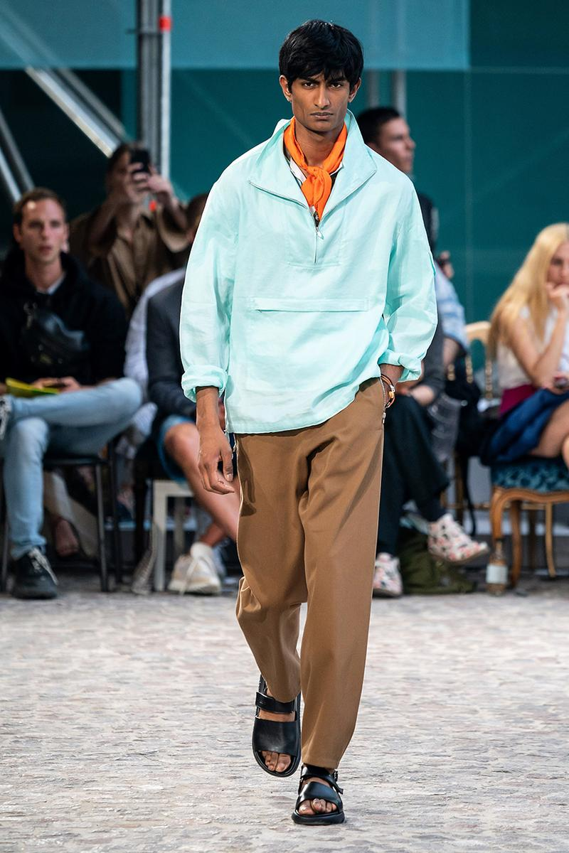 Hermès Paris Fashion Week Men's SS20 Spring/Summer 2020 Menswear Collection Runways Véronique Nichanian Artistic Director Homme Designer