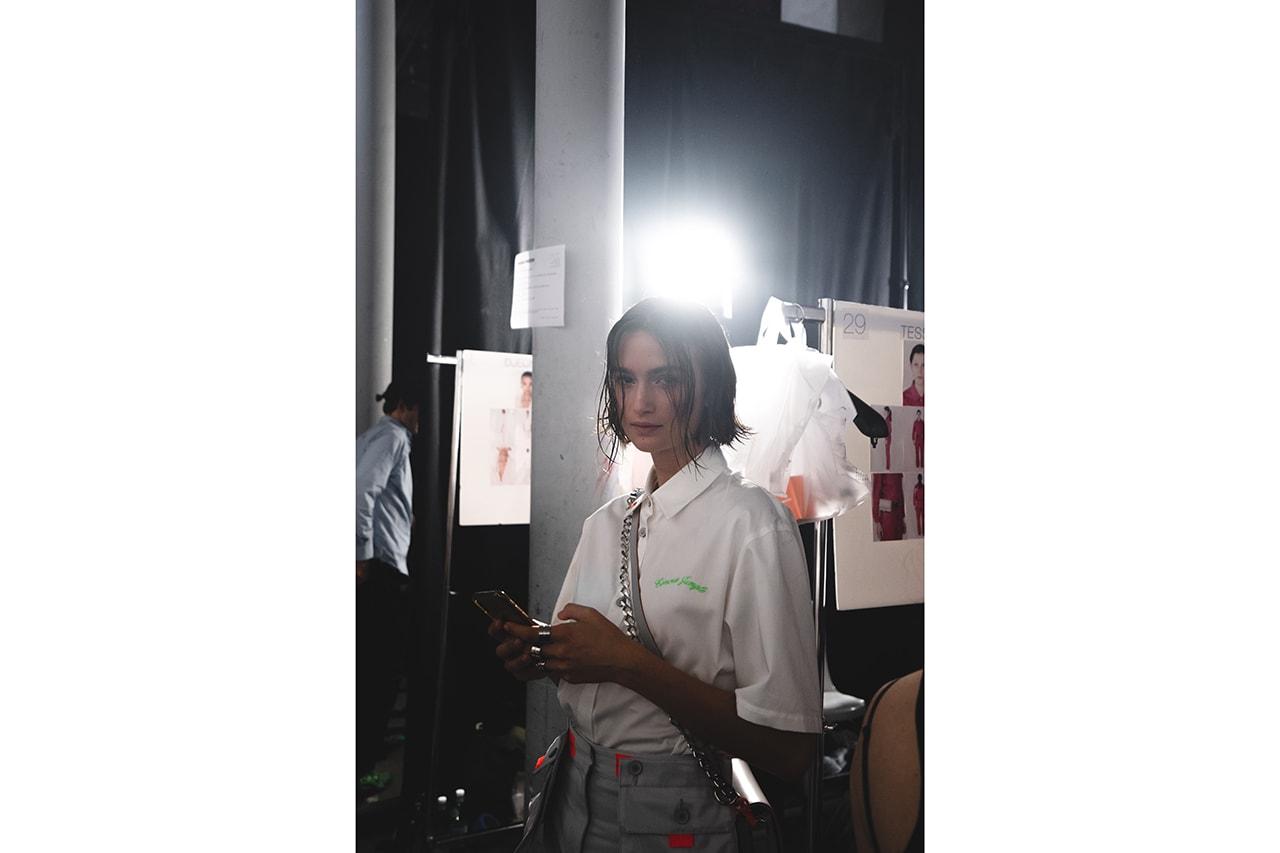 Heron Preston Paris Fashion Week Men's SS20 Spring Summer 2020 Looks Runway Pieces Levi's Collaboration Pieces First Look GORE-TEX