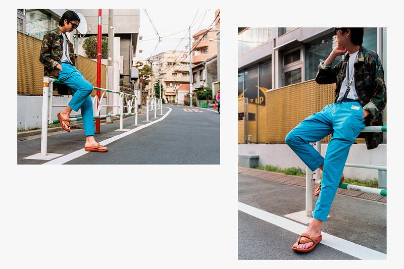 "Hi-Tec Japan Footwear Drop Editorial Campaign Lookbook ""Shibuya Crossover"" Images Kawaz Flex Elasticated Sandal Aoraki WP Outdoor Sneaker SS19"