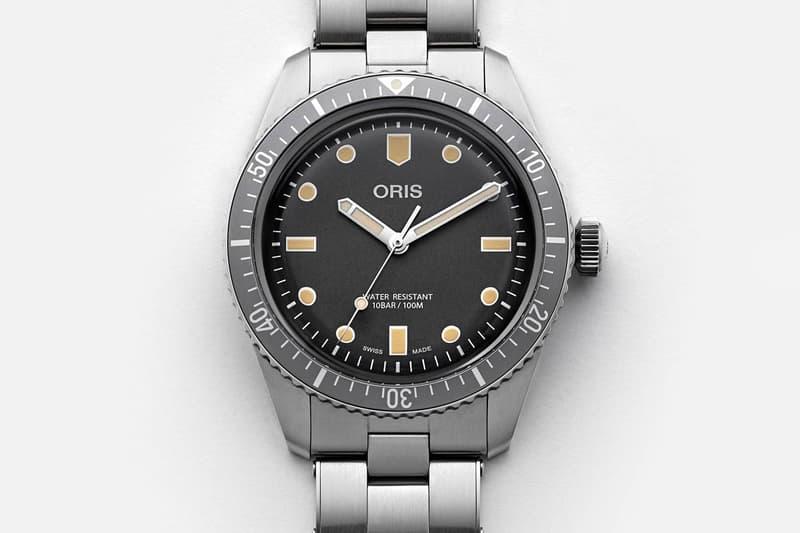 Hodinkee x Oris Divers Sixty Five Watch swiss made watches timepiece diving ETA