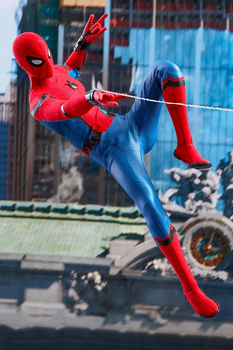 Hot Toys Drops a 'Spider-Man: Far From Home' Movie Promo Edition 1/6th Figure