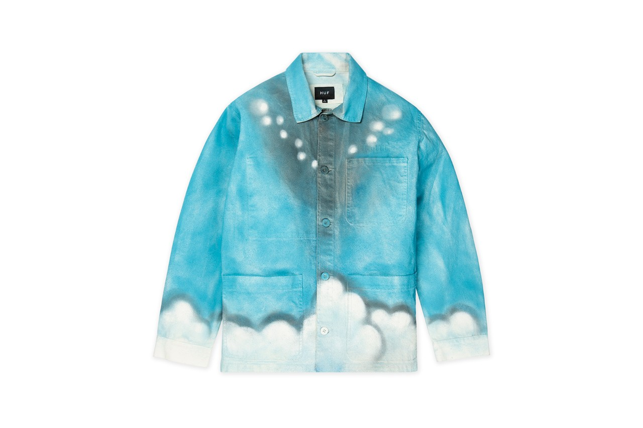 mark bode huf artist capsule collection spring summer 2019 release hand painted jackets cartoon illustrations