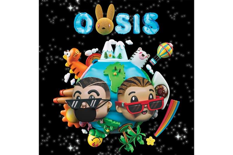 J Balvin Bad Bunny OASIS Album Stream Spanish Latin New Music tracks 2019 MOJAITA YO LE LLEGO CUIDAO PRO AHI QUE PRETENDES KA CANCION UN PESO ODIO COMO UN BEBE marciano cantero mr eazi