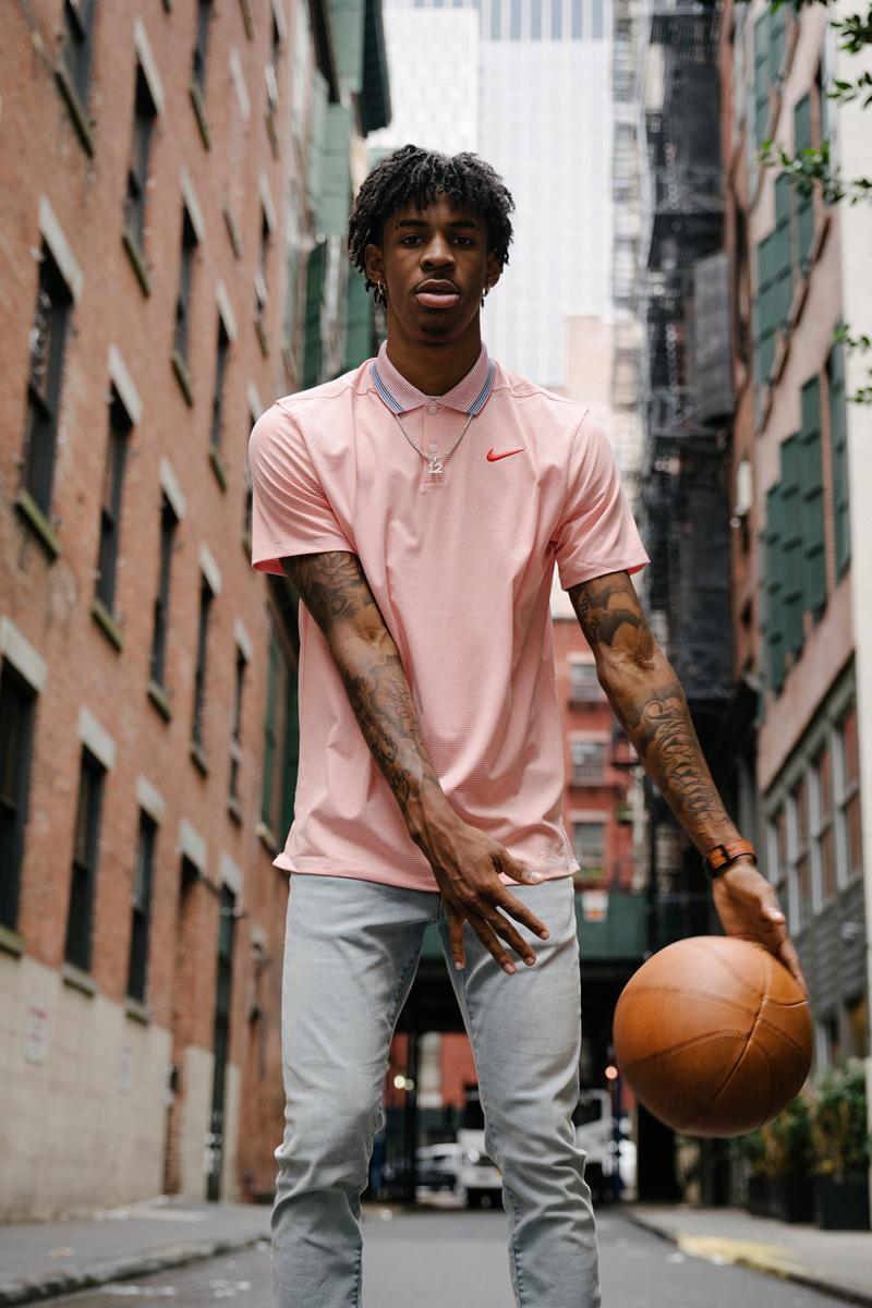 Ja Morant fashion Style nike Sneakers HYPEBEAST Streetsnaps new york city nba draft 2019 shoes tissot watch hoop earrings 12 chain jewelry air jordan 1 polo gold shirt