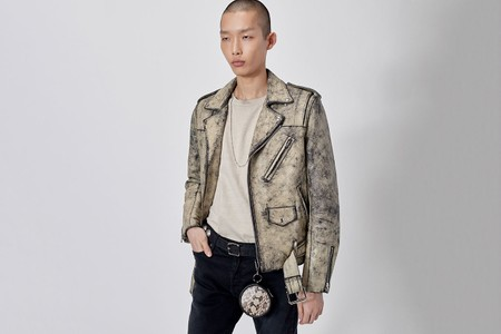 John Elliott and Blackmeans Rejoin for Distressed Leather Rider's Jackets