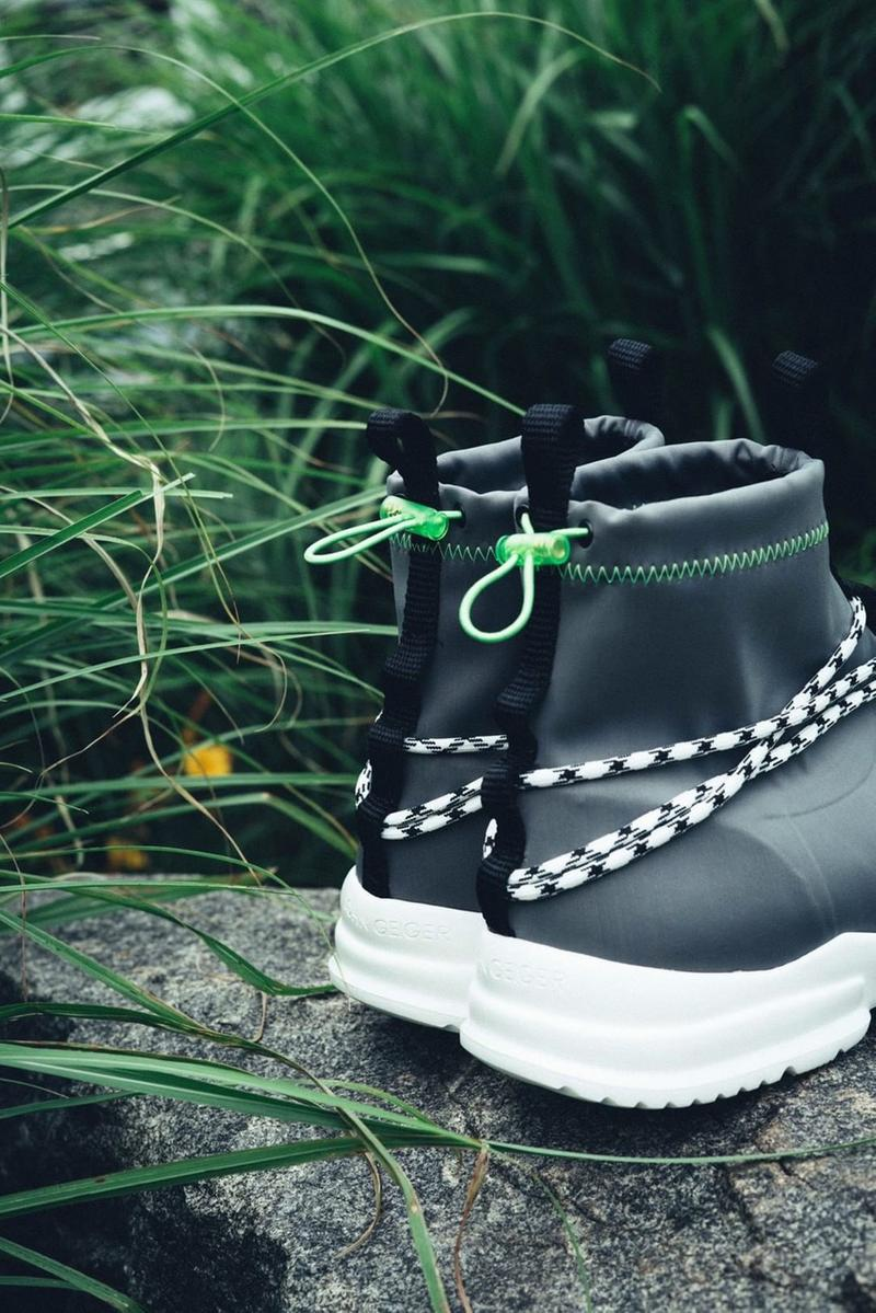 John Geiger Grey/Lime 002 Exclusive for Anrosa paris fashion week pfw june 17 drop buy release date info
