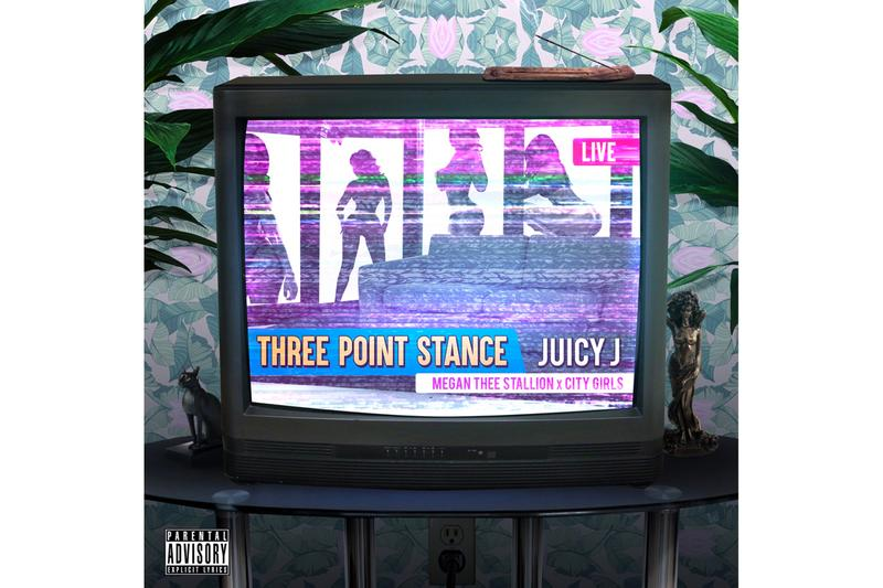 Juicy J Three Point Stance Featuring City Girls Megan Thee Stallion Single Stream