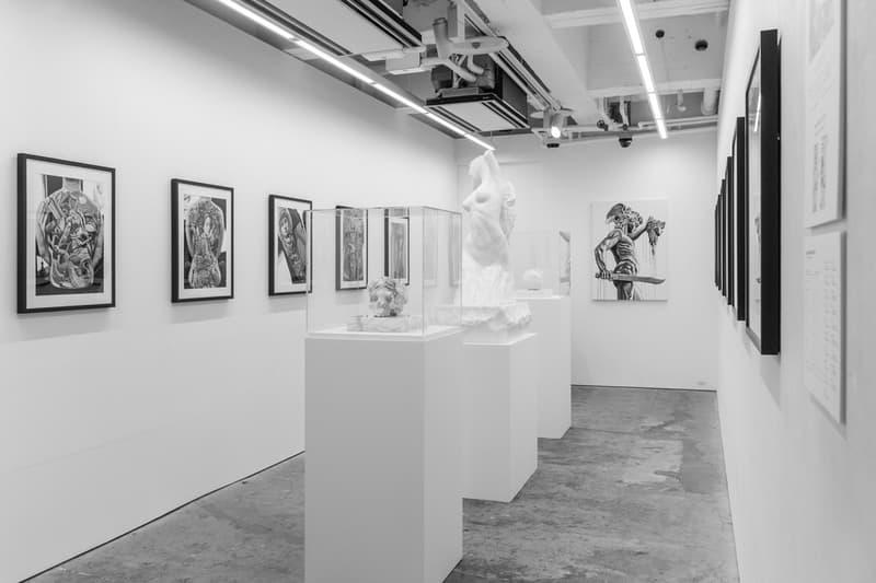 "A Look Inside Jun Cha's ""RONIN"" Solo Exhibition In Tokyo"