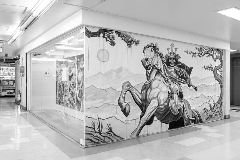 jun cha ronin hidari zingaro exhibition artworks paintings