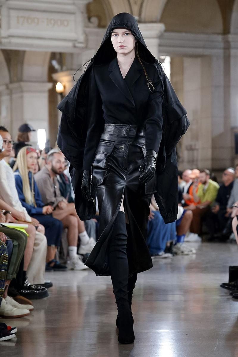 JUUN. J Paris Fashion Week Men's 2020 Spring/Summer 2020 Runway Presentation Men's Women's Collection Closer Look Images Shots Leather Technical Gothic Future Military Inspired Outerwear