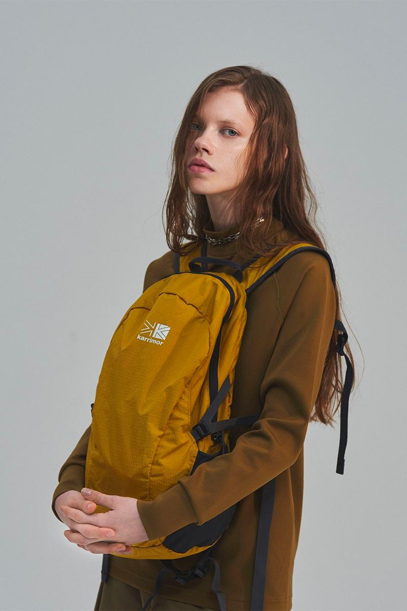 Karrimor Japan Summer 2019 Collection Tailored garments Yuta Yamada functional hi-tech luggage suitcase british outdoor parka poncho raincoat jacket shoegazing shoegaze