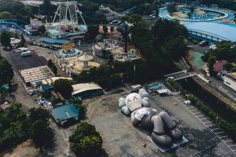 KAWS HOLIDAY Japan Camping Exhibition Mount Fuji