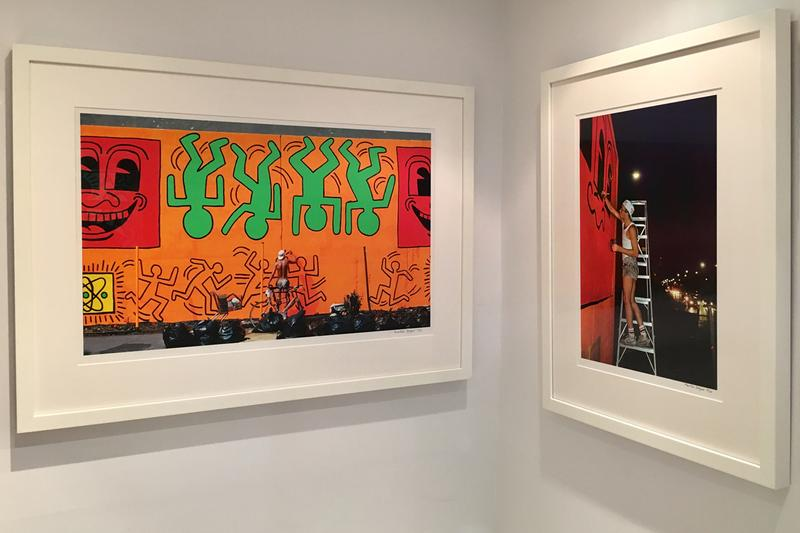 keith haring icon exhibition rhodes contemporary london artworks paintings