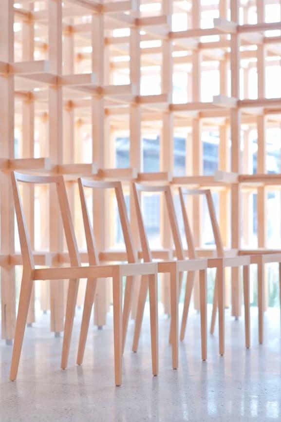 kengo kuma time style exhibition furniture design architecture