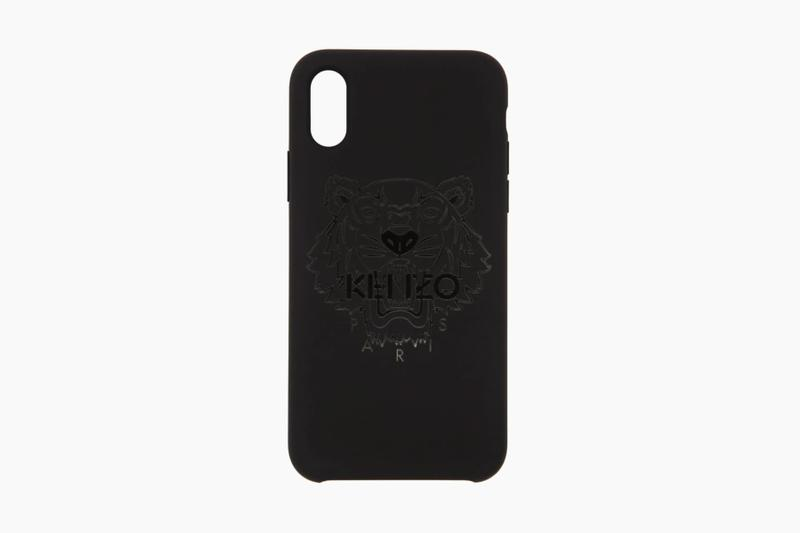 new concept b4003 c1fd9 Kenzo Black Tiger iPhone X Case