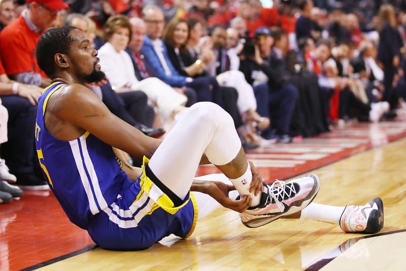 Kevin Durant Ruptured Achilles Surgery Update golden state warriors nba finals