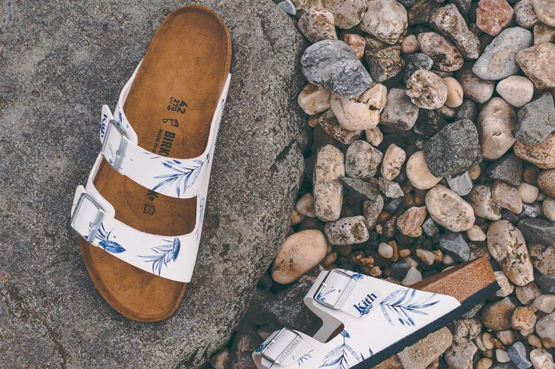 kith birkenstock arizona boston footwear sandals