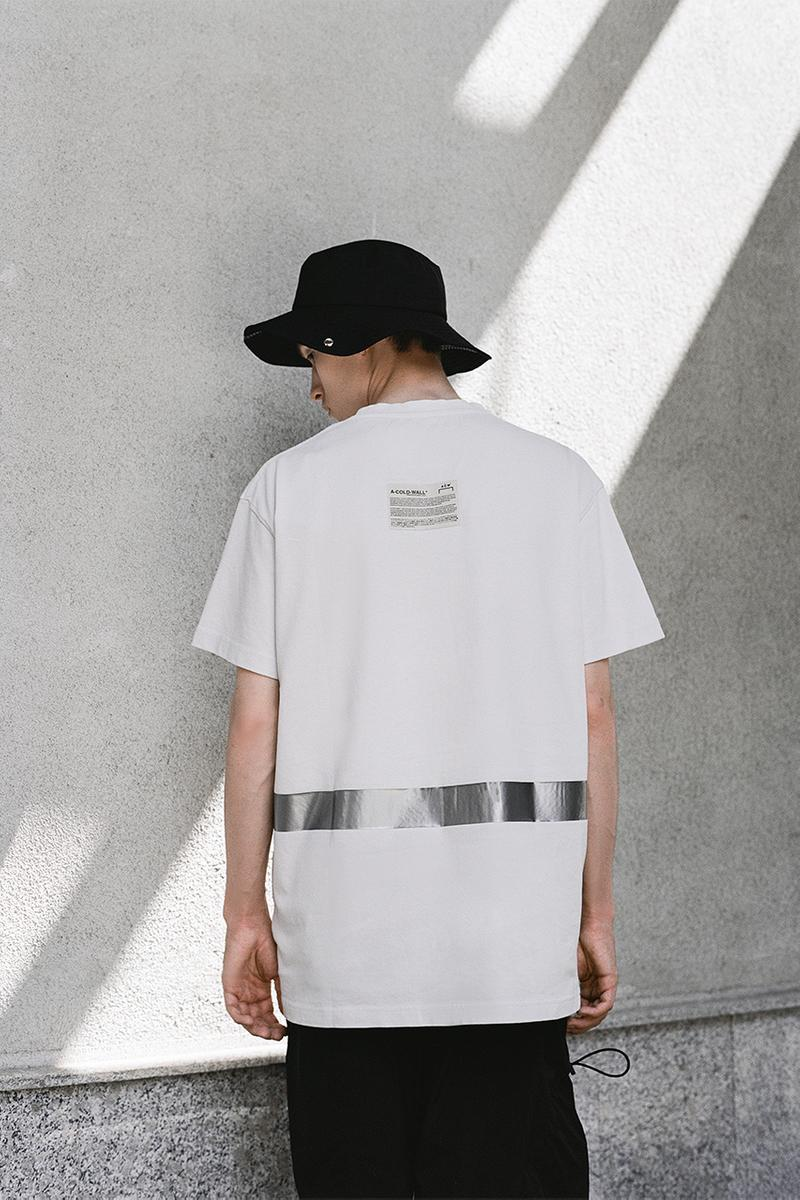"KM20 A-COLD-WALL* Samuel Ross Collaboration Capsule Collection ""ХОЛОДНАЯ СТЕНА"" Concept Store Opening T-Shirt Cross Body Bag Panama Hat Hooded Sweatshirt ""Love Exchange"""