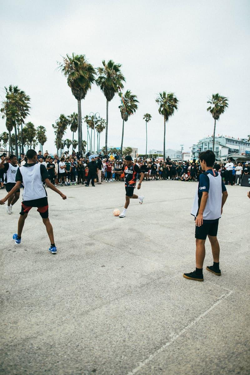 Kylian Mbappé Sports PSG x Jordan Collab in Venice Beach football basketball paris saint germain collaborations air jordan nike jordan brand