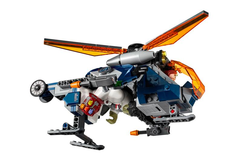 LEGO Avengers Endgame Helicopter Set Release hulk rescue black widow chitauri thanos iron gauntlet infinity stones marvel cinematic universe  toys
