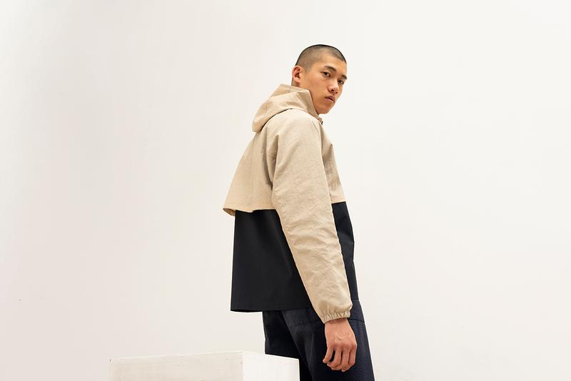 Les Basics Spring/Summer 2020 SS20 Collection Lookbook Simple Clean Cut Classic Staple Pieces Minimal Shirts Bags Coats Zip Ups Trousers Waffle Crushed