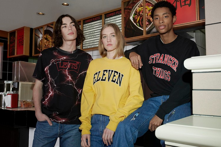 e1a9d9eb5e6 Levi's Celebrates 'Stranger Things' Season 3 With 1985-Inspired Capsule  Collection