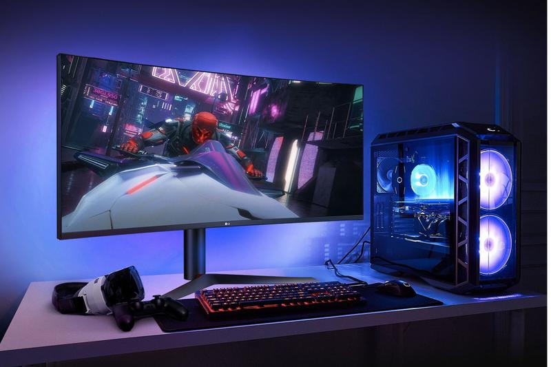LG UltraGear 1ms Gaming Monitor Release Info millisecond IPS 170hz refresh rate nvidia gsync video games screen nano ips