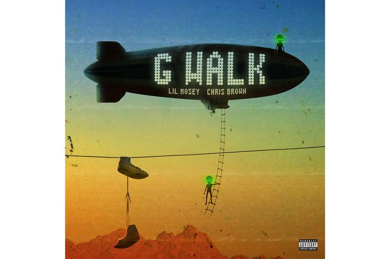 "Lil Mosey ""G Walk"" With Chris Brown Song Stream"