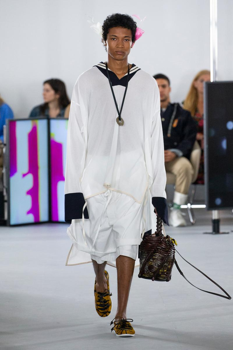 loewe spring summer 2020 mens runway show collection paris fashion week