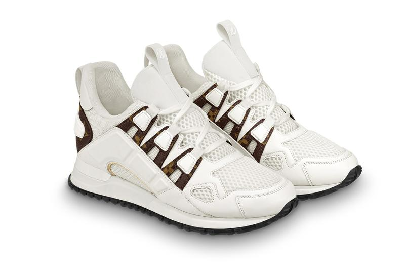 Louis Vuitton Run Away Sneaker SS19 sneakers women's brown off white pink gold monogram lv Virgil Abloh