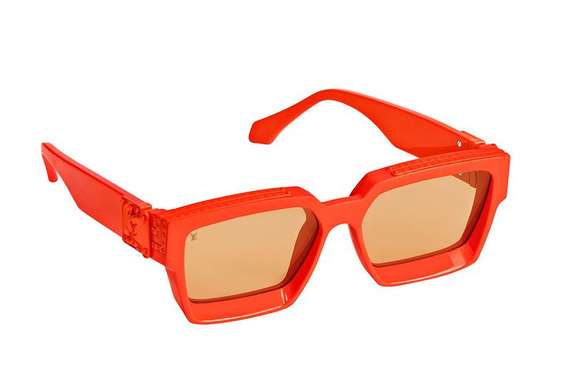 Virgil Abloh Louis Vuitton Orange Capsule at MCA chicago museum contemporary art menswear glasses residency