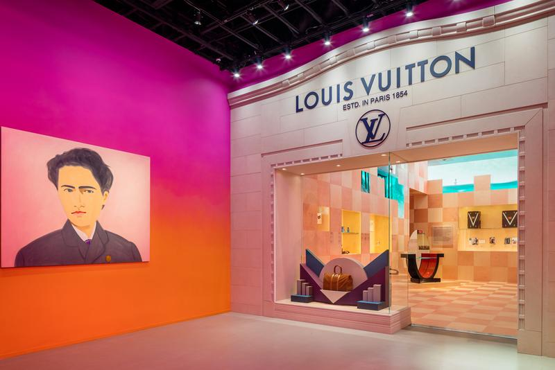 """Louis Vuitton X"" Archive Exhibition Inside Look beverly hills los angeles california collection brand history"