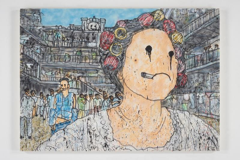 madsaki perrotin hong kong solo exhibition paintings artworks shows