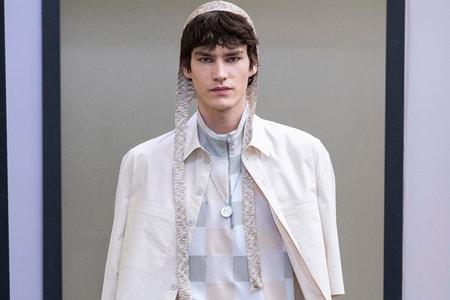Maison Kitsuné Hits Paris Fashion Week Men's SS20 With Colorful Tailoring