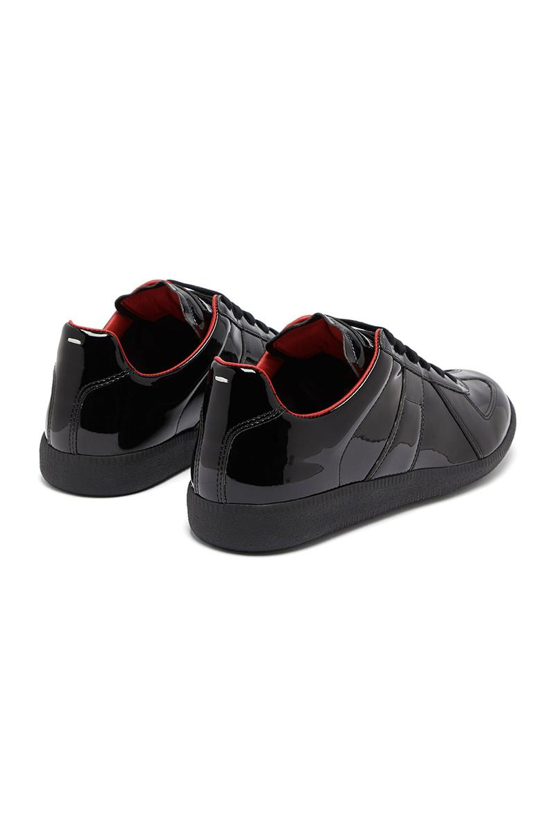 Maison Margiela Replica Neoprene Trainers Patent-leather mm6 atelier replica martin margiela john galliano sneakers