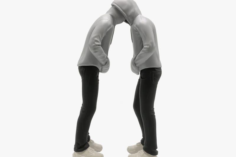 Mark Jenkins Limited-Edition Head in Head Sculpture Collaborations Unique Board